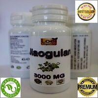 3 X 60  3000mg Jiaogulan Organic Herb-100% Gynostemma pentaphyllum adaptogens