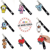 BT21 Character Travel Wrist Strap Hand Grip Band Ver.2 K-POP Authentic Goods