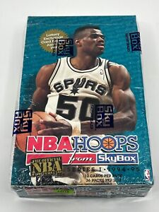 1994 Hoops Series 1 Basketball Cards Factory Sealed Box 36 Packs