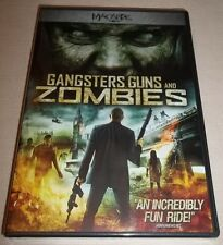 Gangsters, Guns and Zombies (DVD, 2012) New Unopened