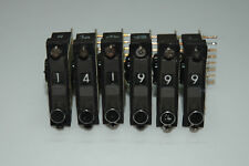 ROCKWELL-COLLINS PRC-515 RU 20 Frequency Switches -BCD Switches-SET