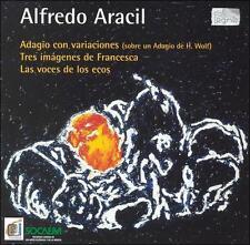 Alfredo Aracil: Adagio con variaciones; Tres imagines de Francesca; Las voces de