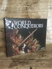 WORLD CONQUERORS Game by Jeff Siadek - History War Strategy Dice & Board Game