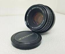 Asahi SMC Pentax-M 1:2 50mm f/2 Manual Focus Prime Lens for P/K Mount