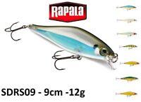Rapala Shadow Rap® Shad Slow Rising Fishing Lure 9cm 11g Various Colours