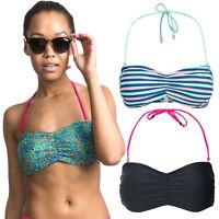 Trespass Linear Womens Halter Neck Bandeau Bikini Top