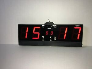 Digital Score Keeper with remote control, Cornhole game
