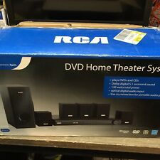 RCA RTD3131 Home Theater Subwoofer & 5 Satellite Speakers New (No DVD Player)