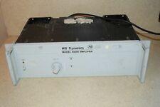 Mb Dynamics Model Ss250 Amplifier Model Mb7520 De1