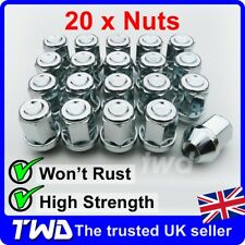 20 x ALLOY WHEEL NUTS FOR FORD GALAXY 2006+ (COMPATIBLE FIT) STUD LUG BOLT [20E]