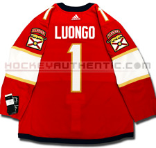 ROBERTO LUONGO FLORIDA PANTHERS HOME AUTHENTIC PRO ADIDAS NHL JERSEY