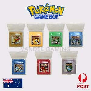 🇦🇺 Pokemon Nintendo Gameboy Pocket, Colour, Advance Games - High Quality!