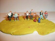 Preiser  Figuren H0 1:87 Sitzend Reisende