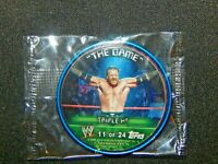 2006 Topps Metal Insider WWE Wrestling Coin Card - TRIPLE H - #11 of 24