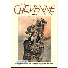 Cheyenne limita Artprint portafoglio stampa motivi 5 079 200 sels Ersel silberpf