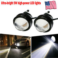 2Pcs White 5W High Power Fish / Bull  Eye Projector Fog Light DRL LED Lamps