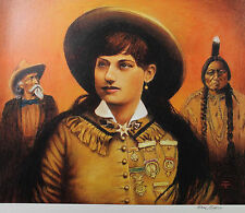 Don Marco print of Annie Oakley, Buffalo Bill and Sitting Bull