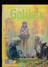 Galileo Magazine #14 Larry Niven David Riesman September 1979