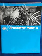 2009 Harley Davidson sportster xl 1200 883 hugger nightster low service manual