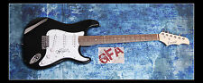 **GFA Sum 41 *DERYCK WHIBLEY* Signed Electric Guitar PROOF D3 COA**