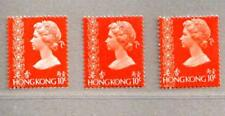 Hong Kong 1973 to 1977 QEII the 3rd Issued Definitive Stamps Coil Full Set
