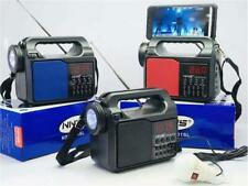Emergency Solar Hand Crank Weather Radio  Power Bank Charger Flash Light