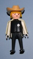 Playmobil Geobra 1974 Blonde Sheriff with Light Brown Hat and Cape