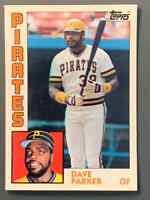 1984 Topps Tiffany #775 Dave Parker Pittsburgh Pirates