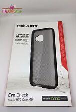 Tech21 HTC One M9 Verificación de Evo Funda - Ahumada / Negro (T21-4440PKG)