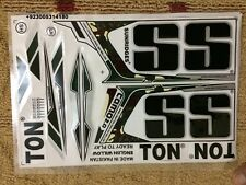 Cricket Bat Sticker With Emboss