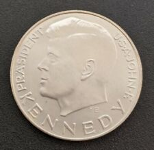 John F Kennedy Silver German Medal Memoriam Of Passing 1963