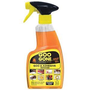 Goo Gone Remover Spray Gel, 12 Oz