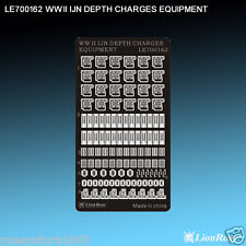 LionRoar Photo-etched details 1/700 WWII IJN Depth Charges Equipment