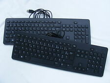 JOB LOT OF x2 DELL V9502 USB FRENCH LAYOUT Keyboards ONLY Ex Display