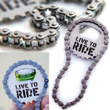 LIVE TO RIDE BICYCLE BIKE CHAIN BOTTLE OPENER BEER CHRISTMAS GIFT FIXIE MTB BMX