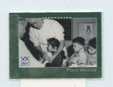2002 Topps American Pie Baseball Card #59 Polio Vaccine