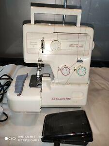 Janome New Home EZYLock 103. 3 Thread Overlocker Sewing Machine.