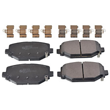 Rear Brake Pad Set Fits Lancia Voyager FIAT Freemont Chrysl Blue Print ADA104271