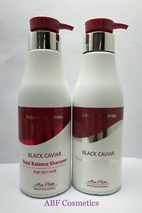 Mon Platin Total Balance Shampoo For Oily Hair And Total Reviving Conditioner