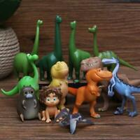 New 12Pcs/Set The Good Dinosaur Figures Decoration For Kids Gifts Toys Doll