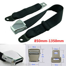 Adjustable 850mm-1350mm Airplane Seat Safe Belt Extenders Aerospace Seat Belts