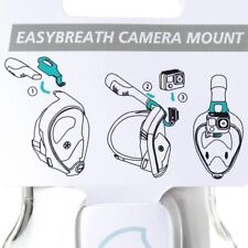 New Camera Mount for Tribord / SUBEA Full Face Snorkel Masks - USA Shipper