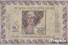 Israel block61 unmounted mint / never hinged 1998 Stamp Exhibition