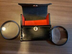 Vivitar 49mm Close Up Lens No.2 & 4, Complete With Case
