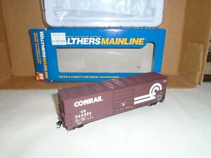 WALTHERS MAINLINE #910-1915 50' EVANS SMOOTHSIDE BOXCAT - CONRAIL #266826 HO