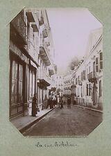 Cauterets Calle De Richelieu Foto citrato de amateur hacia 1900