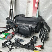 Rca Pro 8 Video Hi8 8mm Dsp3 Pro881Hb with Bag, Battery, and Extras Tested Works