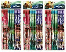 Disney Moana Pencils School stationary Supplies 36pc