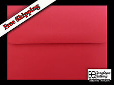 Red Envelopes 50 Boxed for 5 X 7 Cards Invitations Announcement Wedding Showers