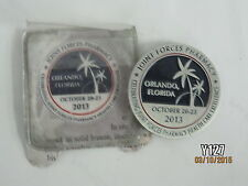 2013 U.S. Joint Forces Pharmacy Seminar Orlando, Florida Challenge Coin Health